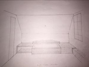 Badewanne (erster Entwurf)