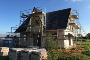 Haus mit Dach