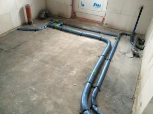 Wasserleitungen im HWR