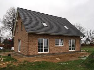 Haus ohne Gerüst - von hinten